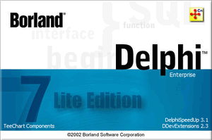 Delphi7 Lite Edition v7.3.4.3 [2011-08-01] [All Updates Integrated]